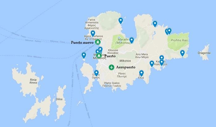 Como Llegar A Mykonos En Avion O Barco Grecia Guia De Viajes
